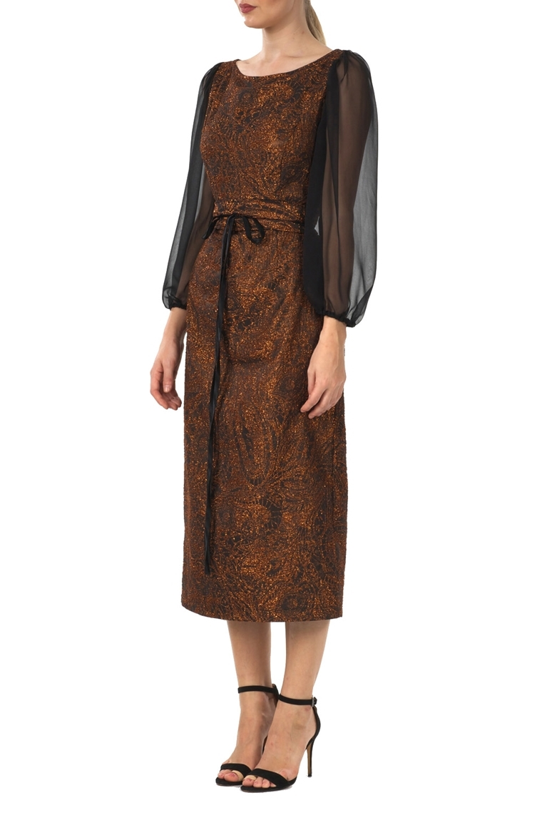 Picture of Bronze Evening Dress
