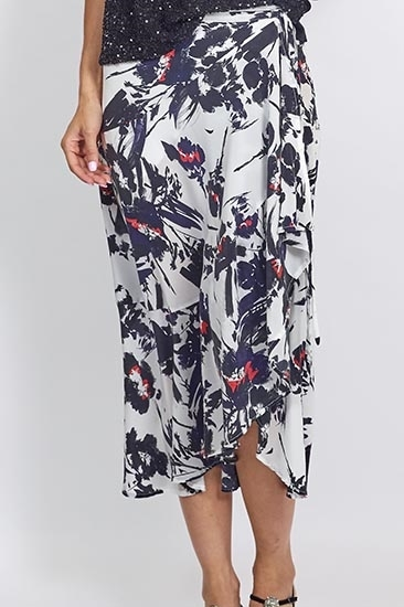 Picture of Cosette Signature Print Wrap Skirt