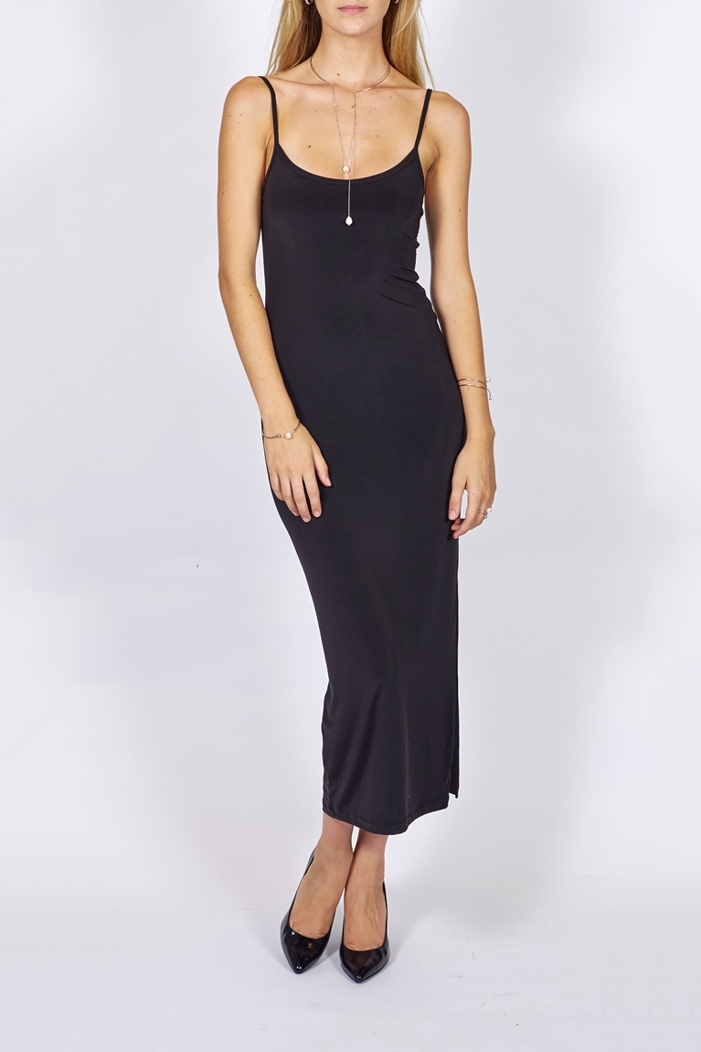 Picture of Maxi Slip Dress Black