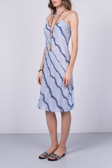 Picture of Wave Print Slip Dress
