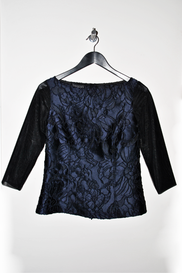 Picture of Blue Embroidered Blouse