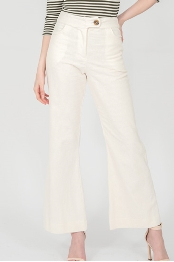 Picture of Cord Pants Ivory