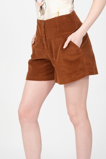 Picture of Ava Shorts Tobacco