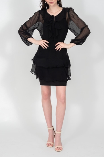 Picture of Grace Dress Black