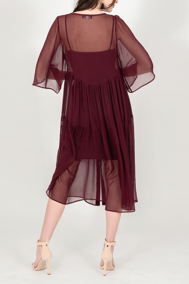 Picture of Hannah Dress Wine