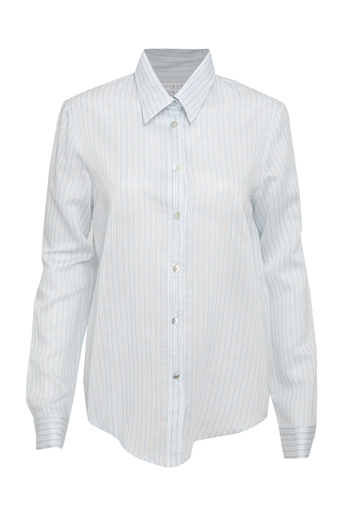Picture of Adele Stripe Shirt Blue