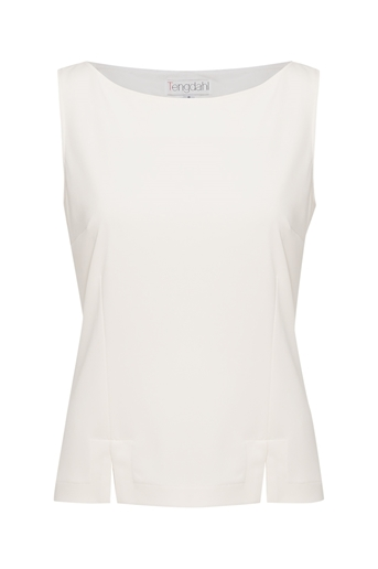 Picture of Alice Shell Top Ivory