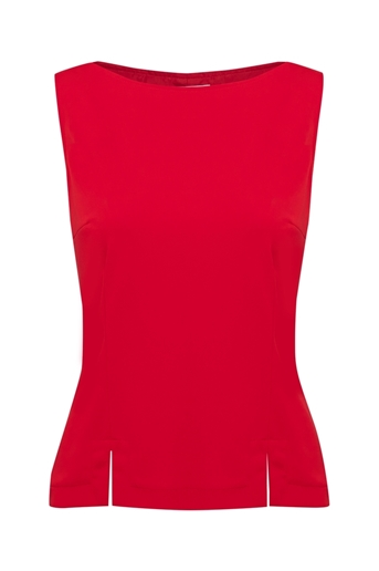 Picture of Alice Shell Top Red