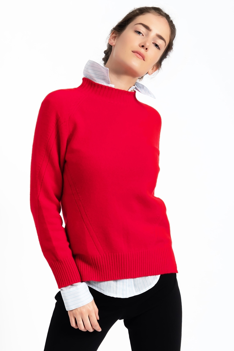 Picture of Sarah Crew Neck Jumper Red