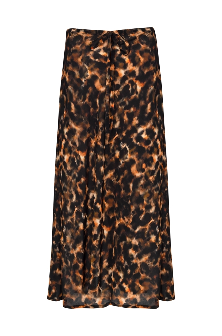Picture of Skye Maxi Skirt Tortoiseshell