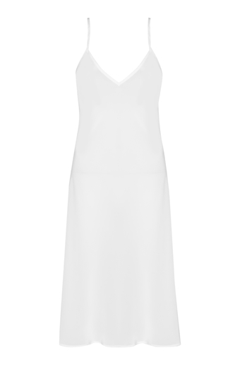 Picture of Evening Bias Slip Dress White