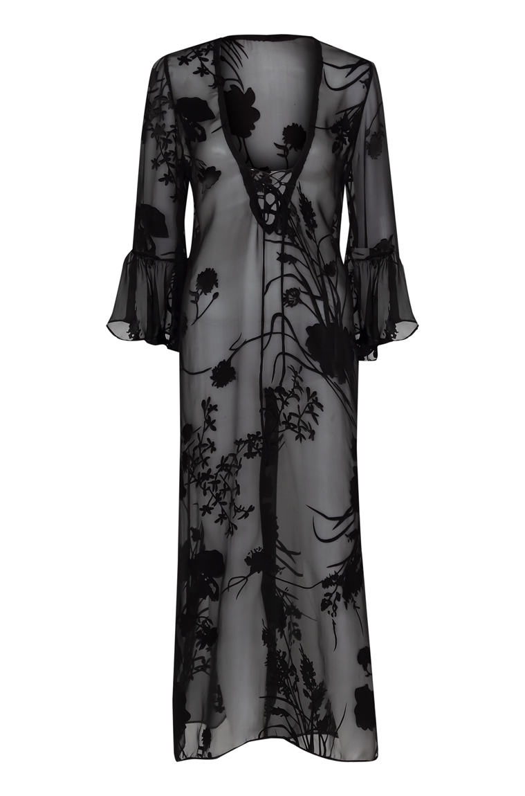 Picture of Adriana Maxi Dress Black