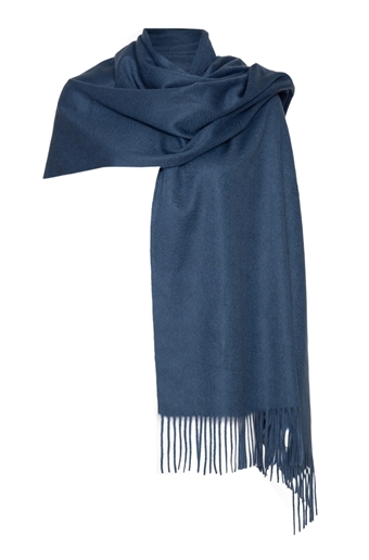 Picture of Cashmere Wrap Marine Blue
