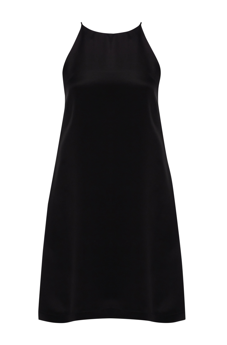 Picture of Audrey Classic Shift Dress Black