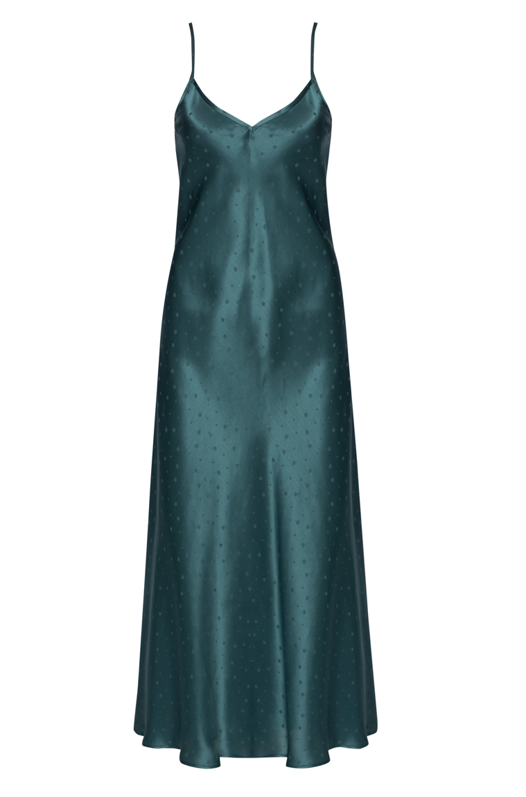 Picture of Jasmina Maxi Slip Dress Jade