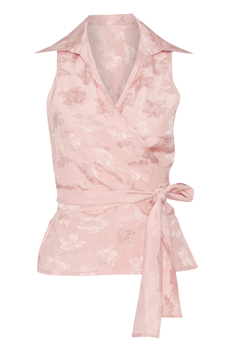 Picture of Sophia Wrap Top Rose