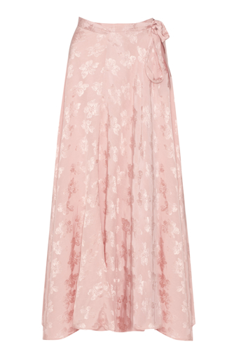 Picture of Sophia Maxi Wrap Skirt Rose