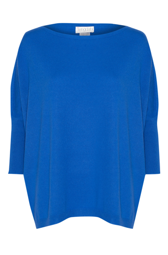 Picture of Relaxed Knit Top Electric Blue