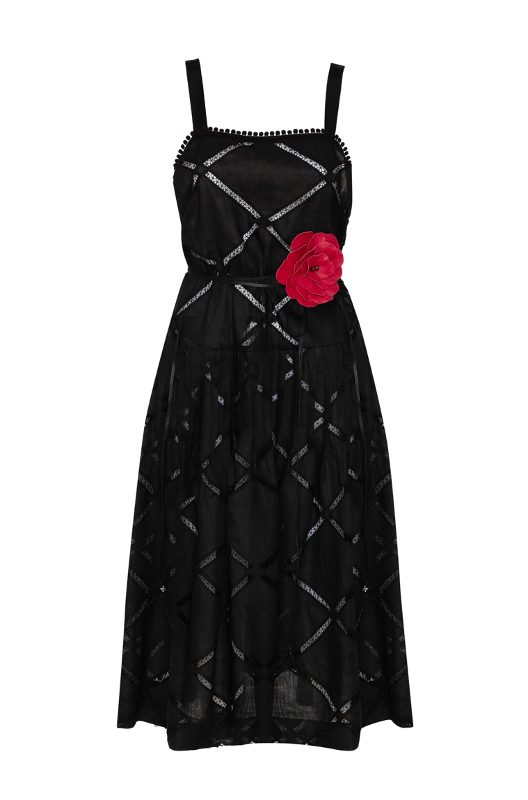 Picture of Poppy Dress Black