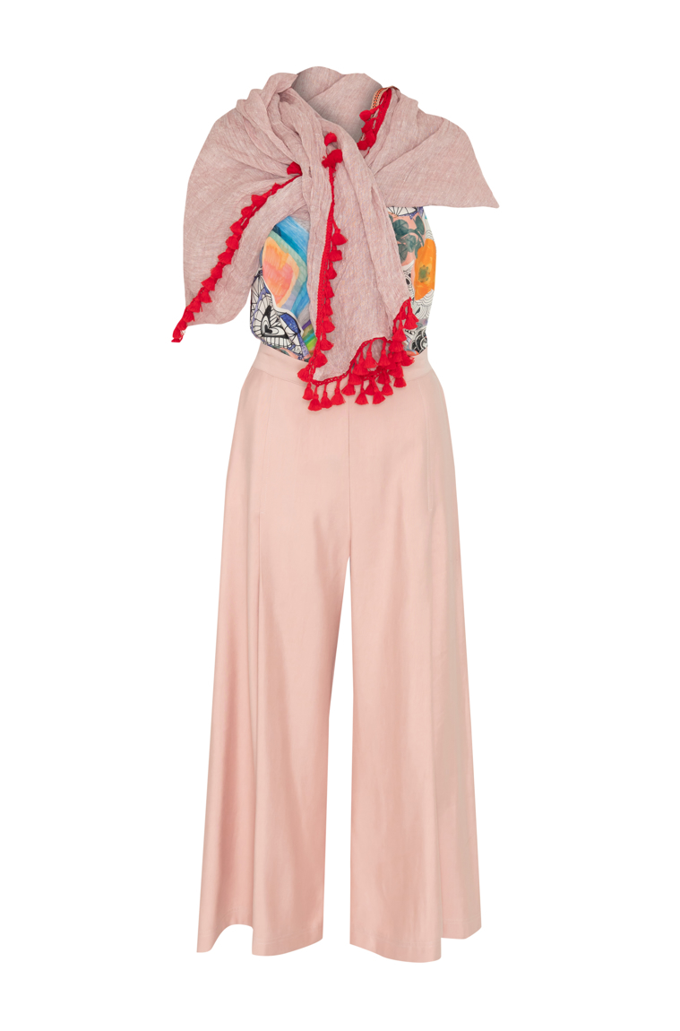 Picture of Giselle Pant Blush Pink
