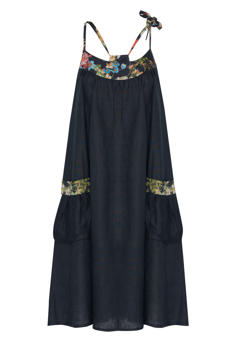 Picture of Freya Dress Navy