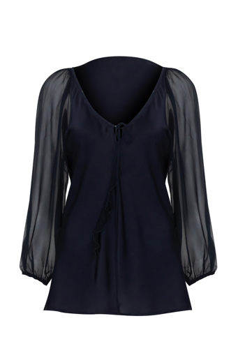 Picture of Juliette Blouse Navy