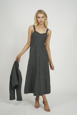 Picture of Marie Curie Maxi Dress Anthracite