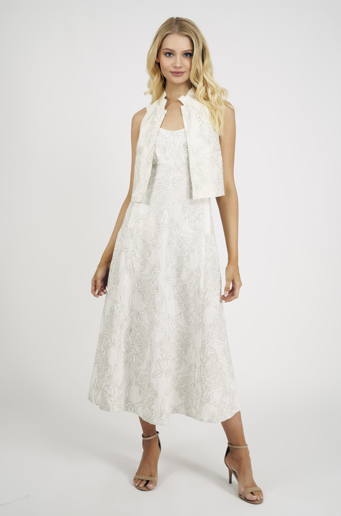 Picture of Marie Curie Maxi Dress Ivory