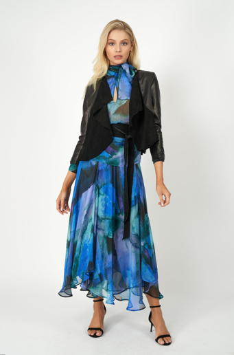 Picture of Valentina Skirt Ulysses Print