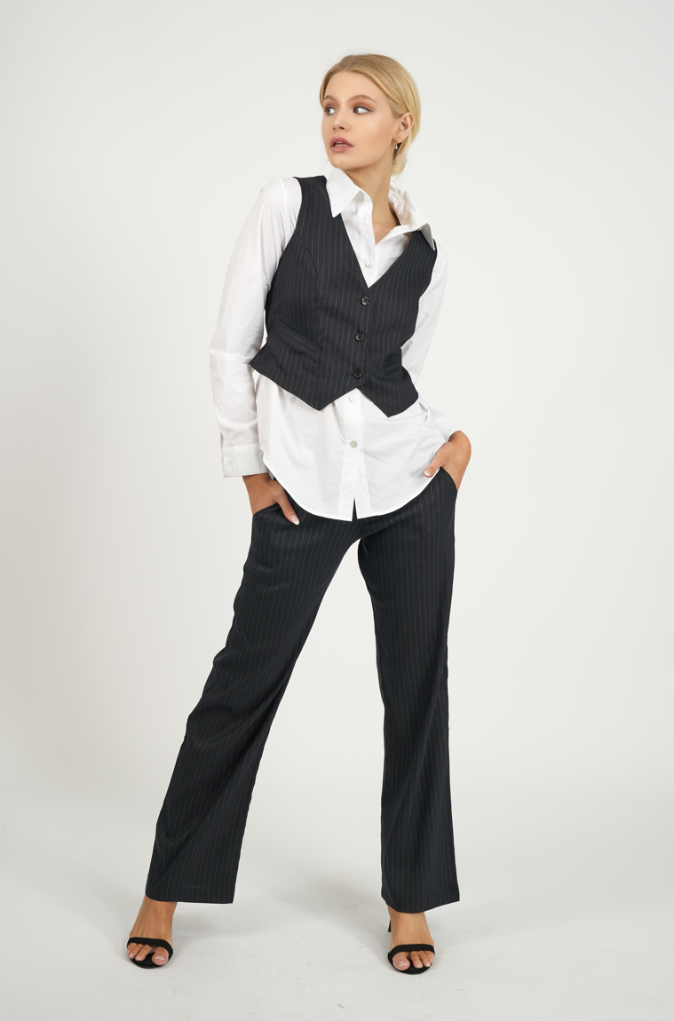 Picture of Penelope Vest Pinstripe