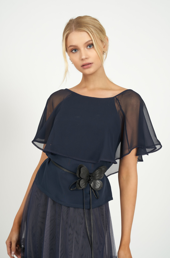 Picture of Vanessa Blouse French Navy