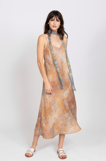 Picture of Jasmina Bias Maxi Dress Uluru