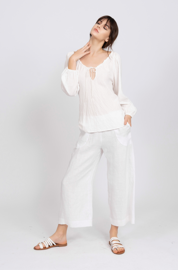Picture of Diana Pant White