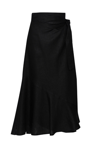 Picture of Artina Maxi Skirt Black