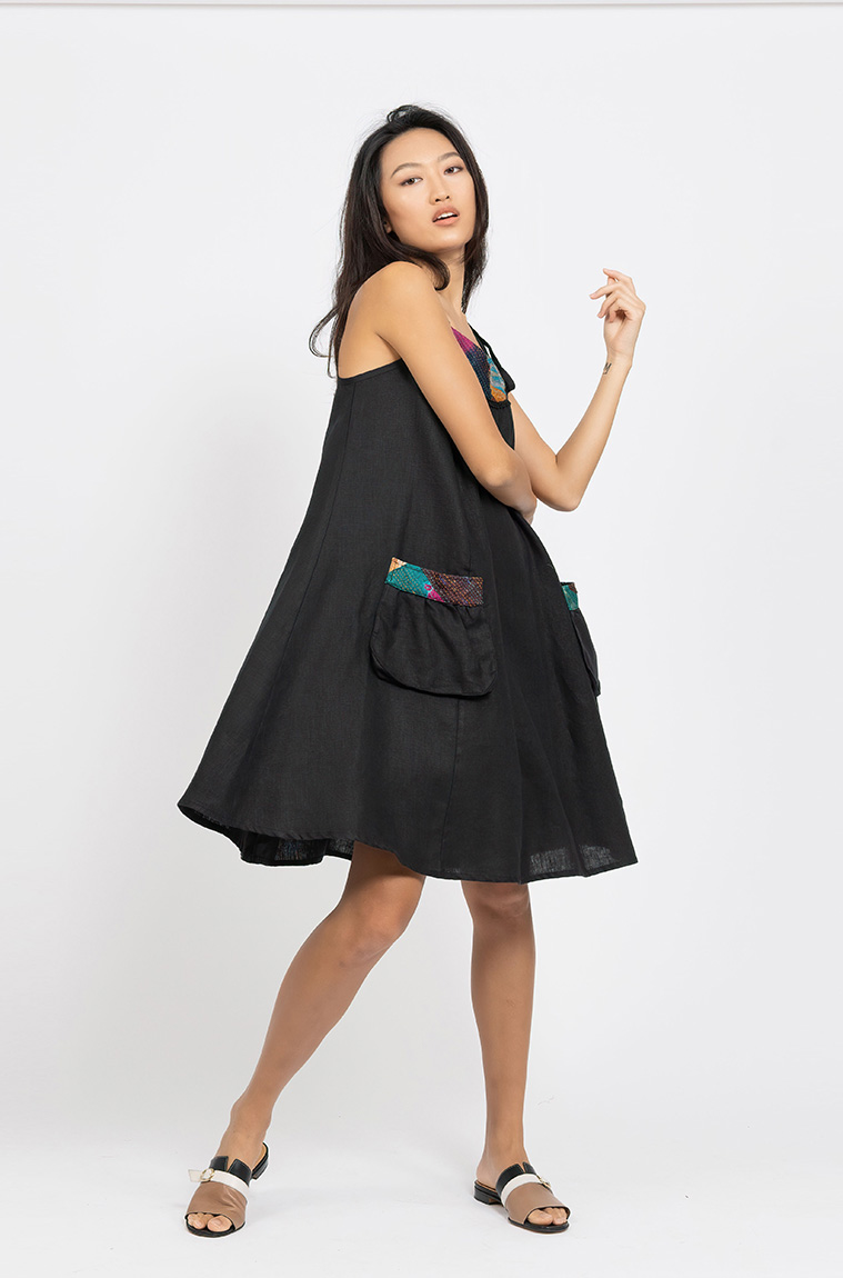 Picture of Freya Dress Black