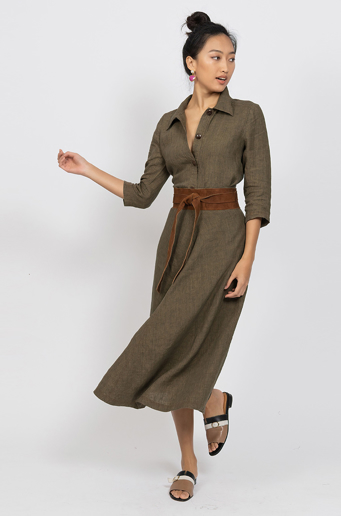 Picture of Tara Skirt Olive