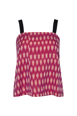 Picture of Elsa Cami Ikat Fuschia Pink