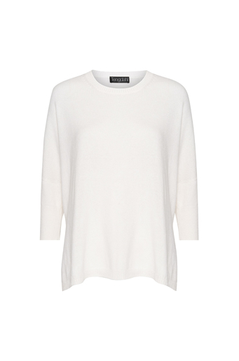 Picture of Crew Neck cashmere sweater Ivory